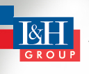 L & H Group logo